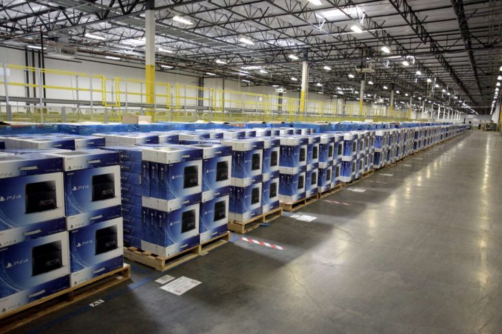 PS4 Consoles Warehouse