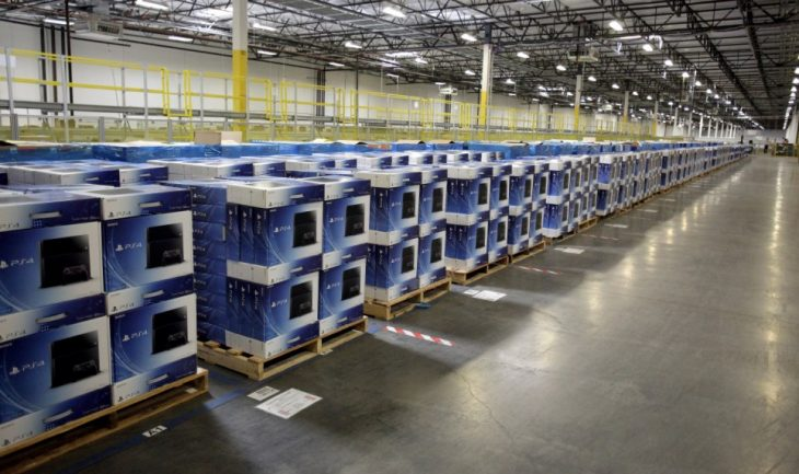 PS4 Console Warehouse