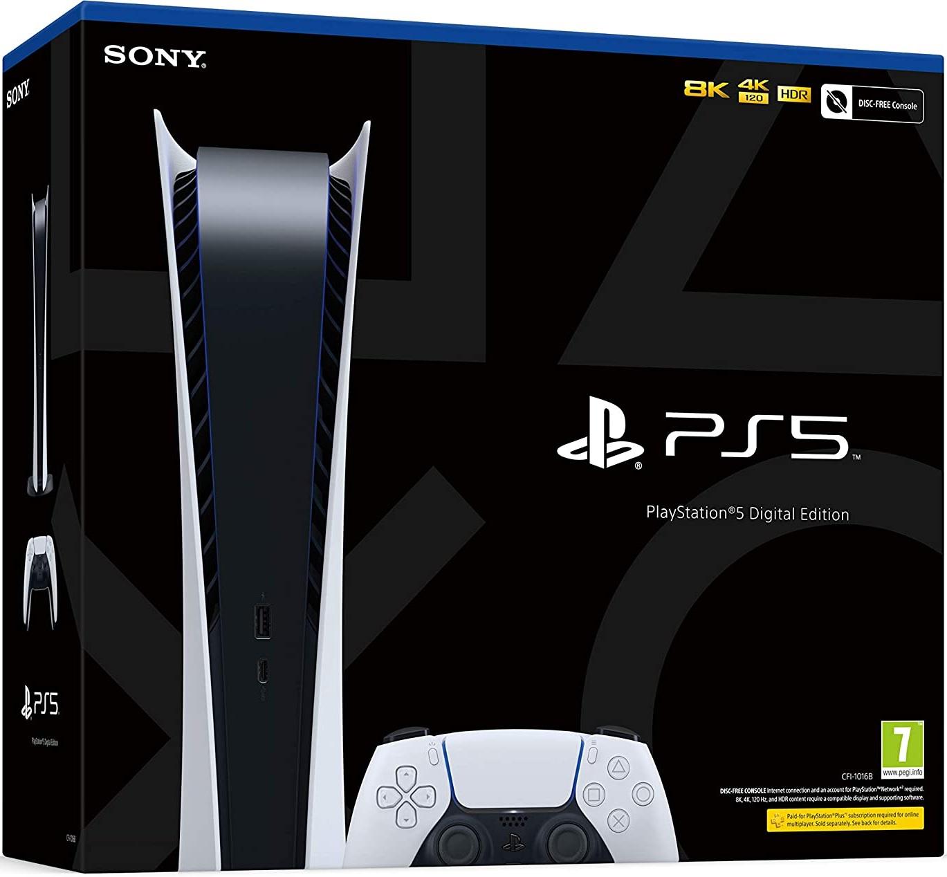 PS5 Digital - Box