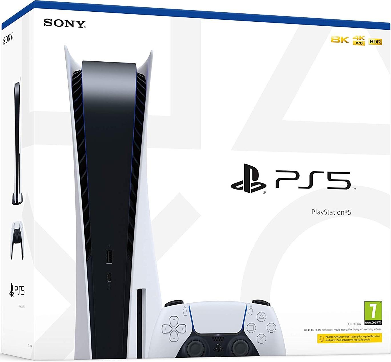 PS5 console - Box
