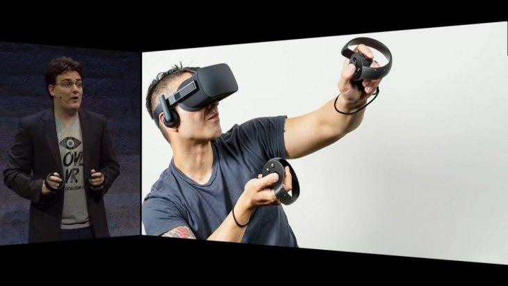 Palmer and Oculus Rift