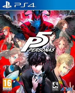 Persona 5 releases and takes the top