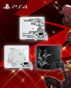 Persona 5 – themed PS4 console announced for Japan