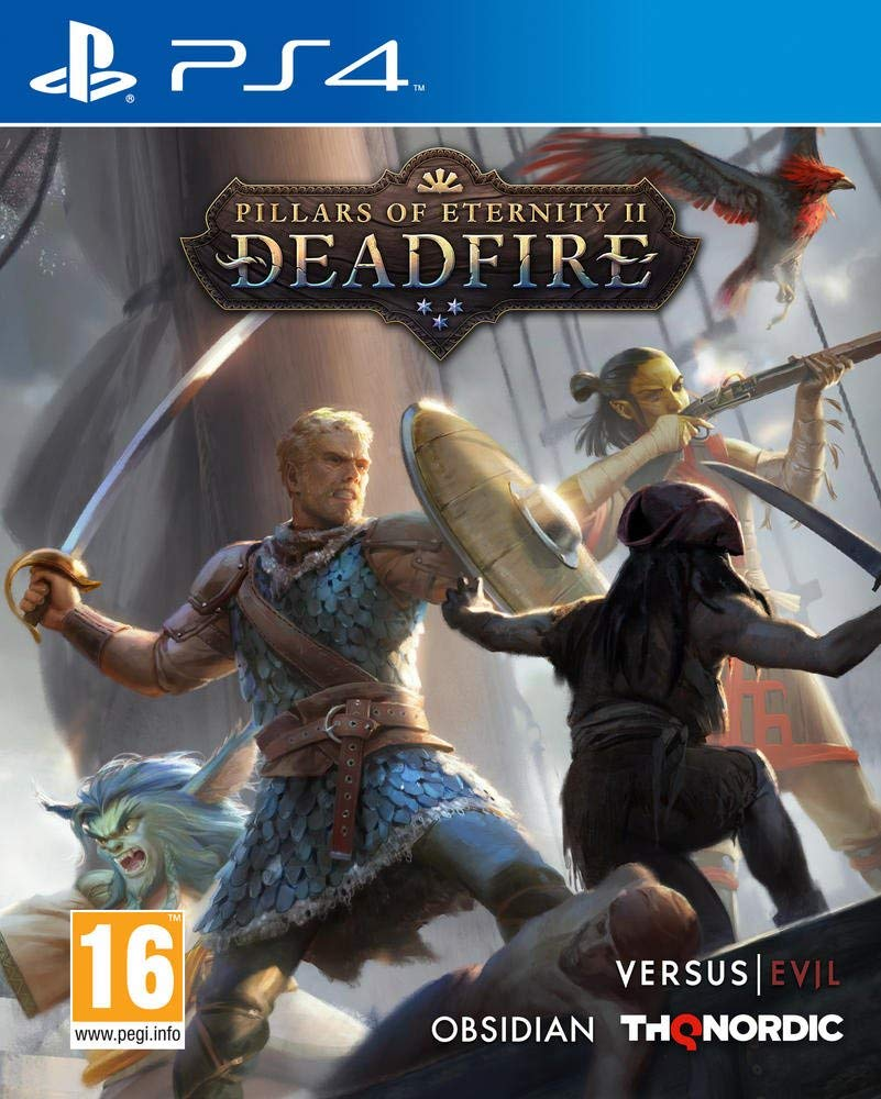 Pillars of Eternity 2 Deadfire announced for consoles