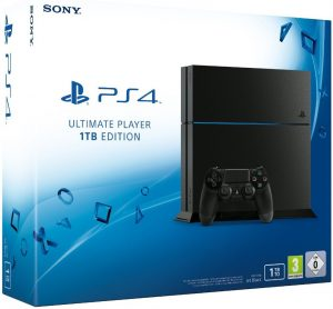 PlayStation 4 Slim 1TB - Black (EU)
