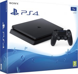 PlayStation 4 Slim 1TB - Black (UK)