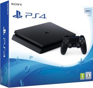 PlayStation 4 Slim 500GB - Black (EU)