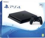 PlayStation 4 Slim 500GB - Black (UK)
