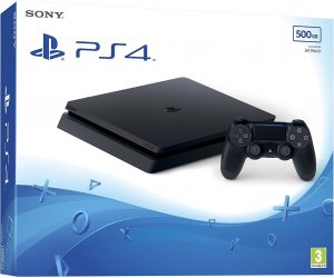 PlayStation 4 Slim 500GB - Black (UK)