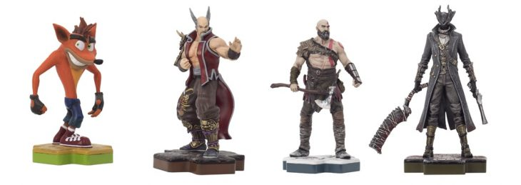 PlayStation Amiibo-like figurines