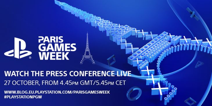 PlayStation Paris Week 2017 - Wallpaper