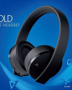 PlayStation 4 Gold Wireless Headset getting a redesign