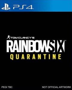 Rainbow Six Quarantine - Not Official Artwork - PS4