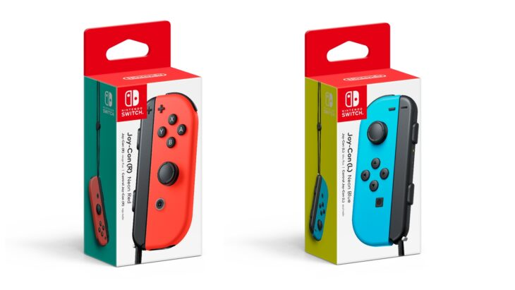 Red and Blue Individual Joy-Cons