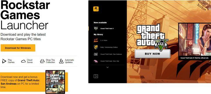 Rockstar Game Launcher
