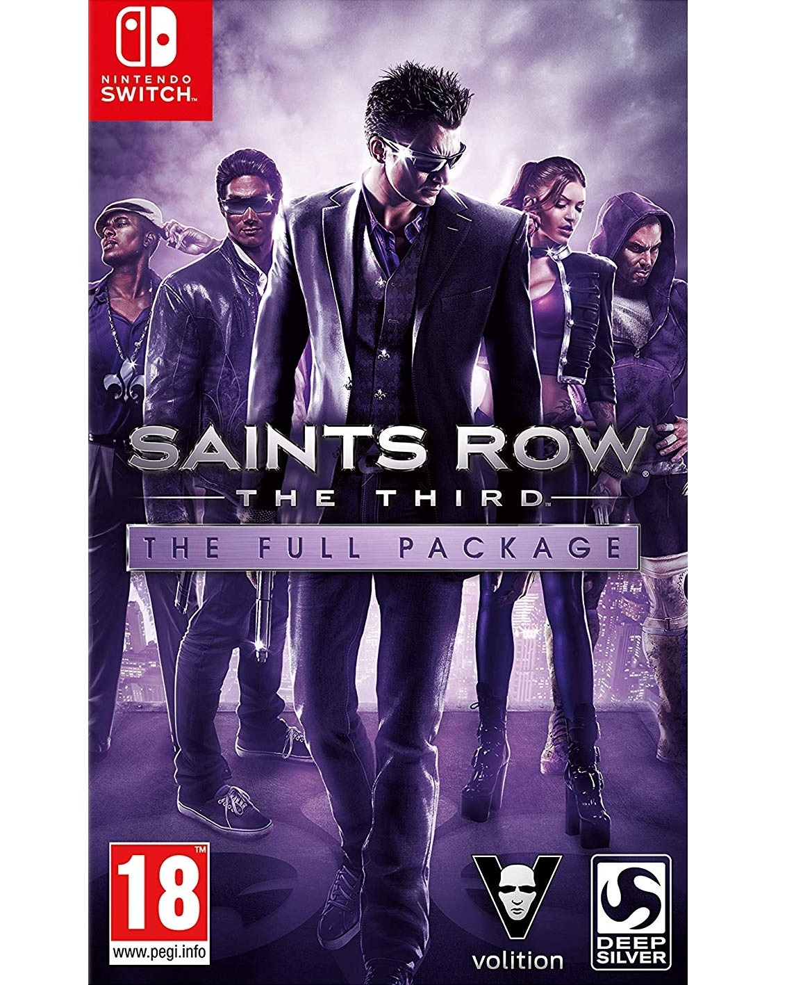 Saints Row The Third - The Full Package - Switch
