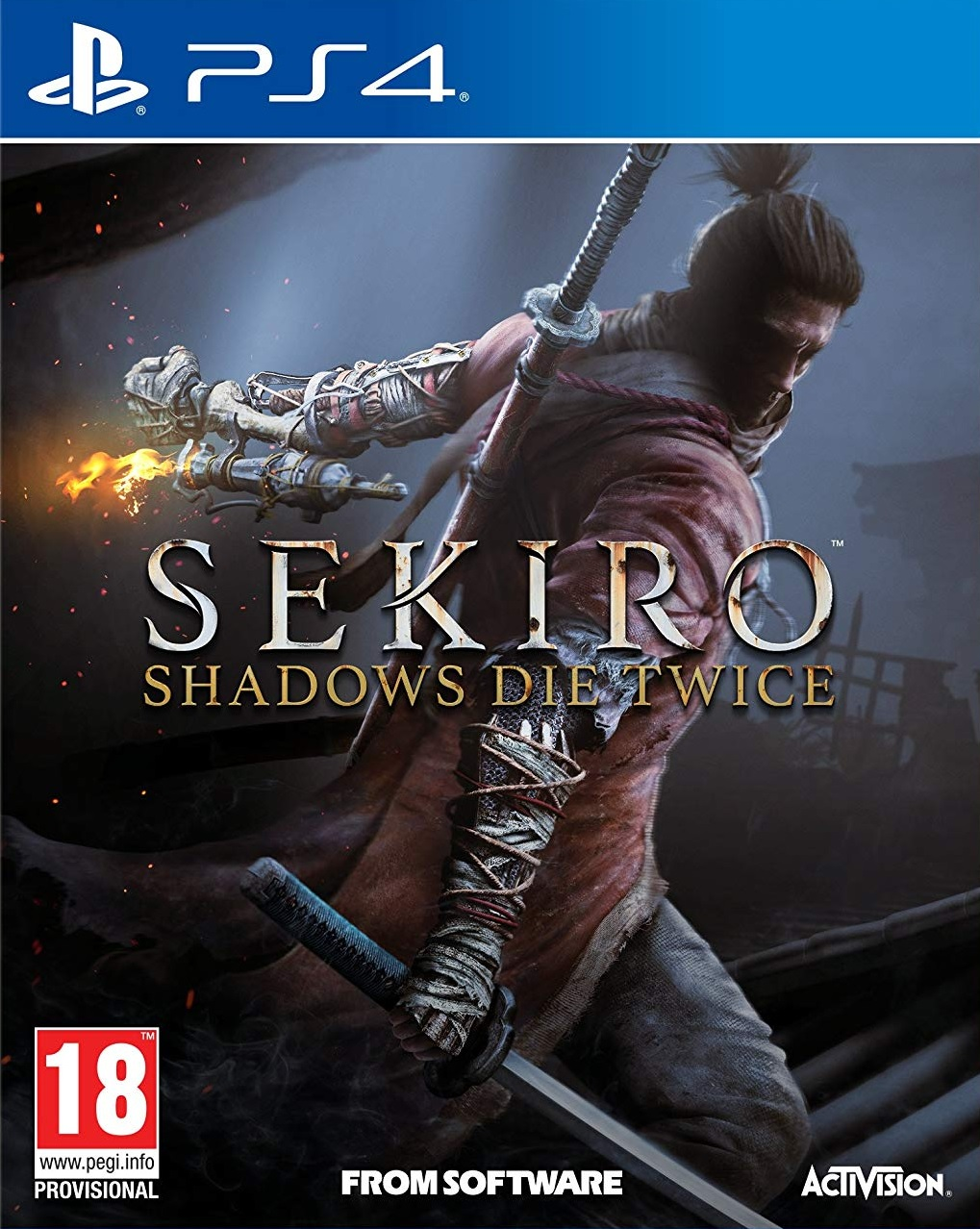 Sekiro Shadows Die Twice - PS4
