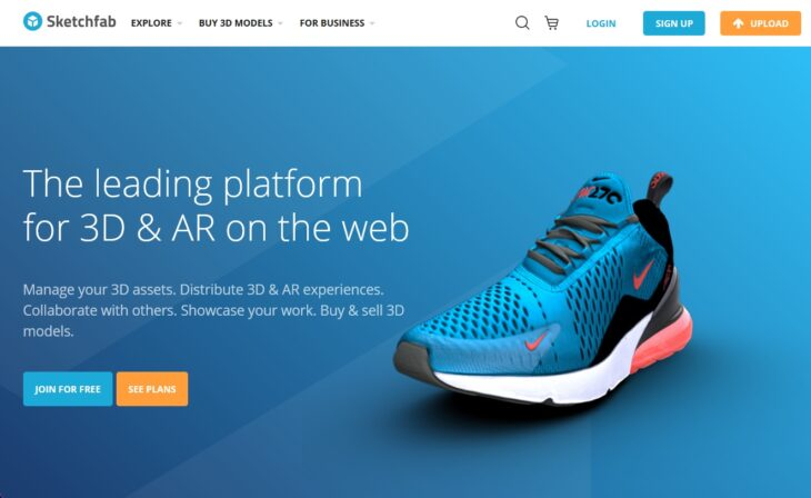 Sketchfab - Screenshot
