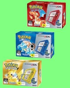 UK Gets Special Edition Pokémon 2DS Consoles