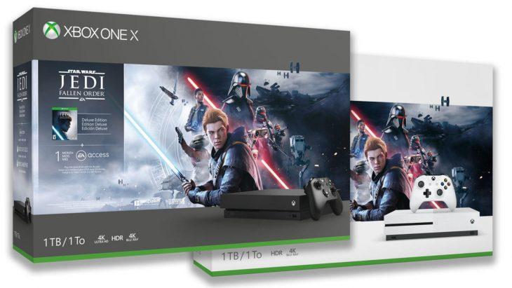 Star Wars Jedi Fallen Order Xbox One bundles