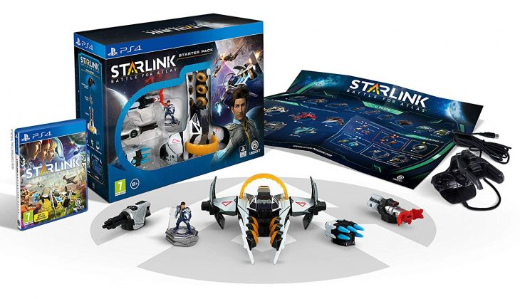Starlink Battle for Atlas physical toys - PS4