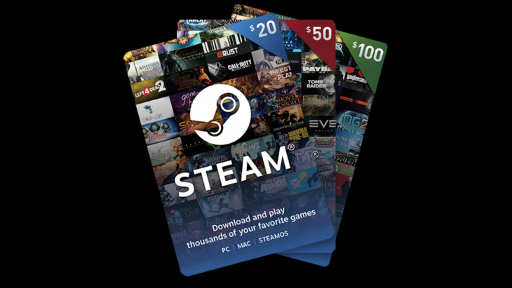 Steam users can now send and receive digital gift cards