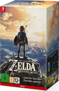 The Legend of Zelda Breath of the Wild - Limited - Nintendo Switch