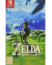 The Legend of Zelda Breath of the Wild - Switch