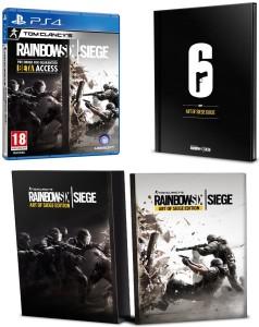 Tom Clancy's Rainbow Six Siege - Art of Siege Edition - PS4