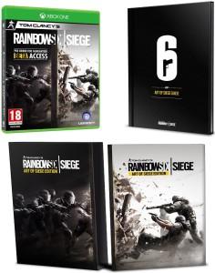 Tom Clancy's Rainbow Six Siege - Art of Siege Edition - Xbox One