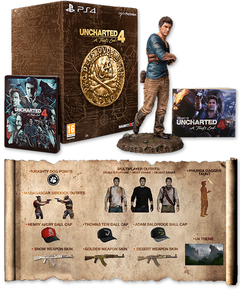 Uncharted 4 A Thief's End - Collectors Edition - 2 - PS4