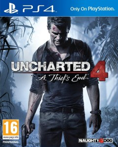 Uncharted 4 A Thief's End - Standard - PEGI - PS4