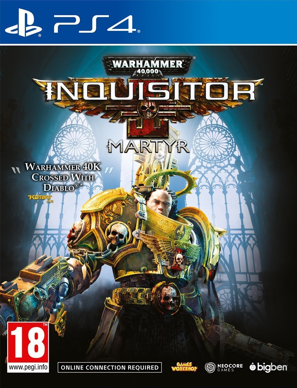 Warhammer 40K Inquisitor Martyr - PS4