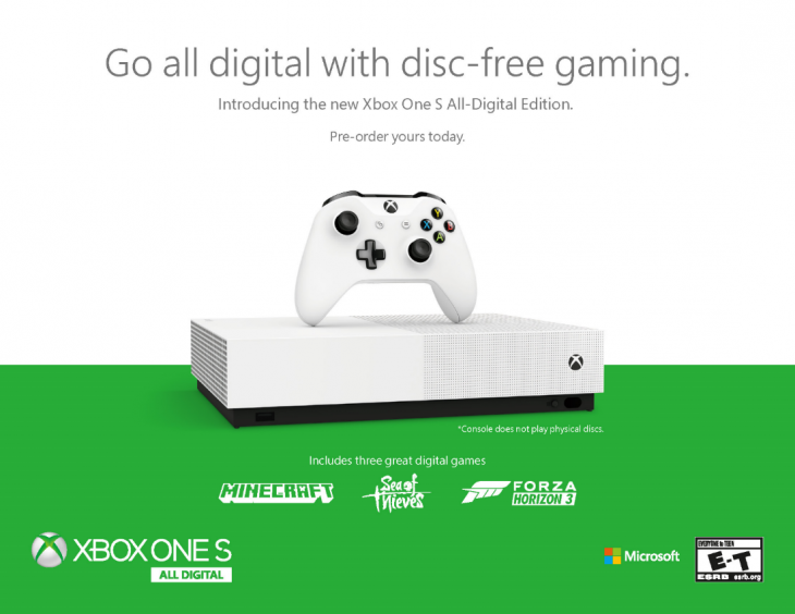 Game and GameStop respond to Xbox One S All-Digital - WholesGame