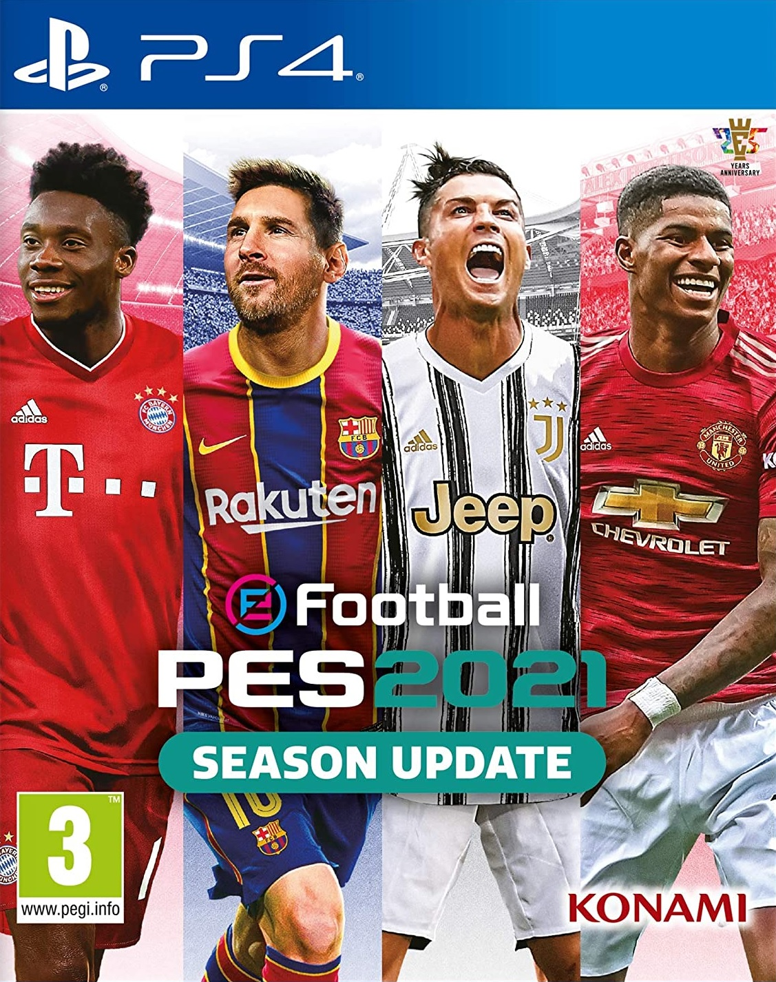 eFootball PES 2021 - Season Update - PS4