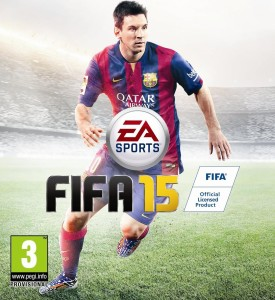 Lionel Messi is on Cover of FIFA 15