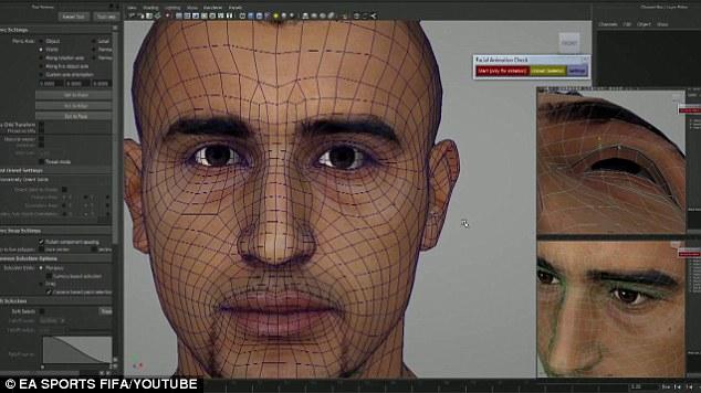 FIFA 15 Face Modeling