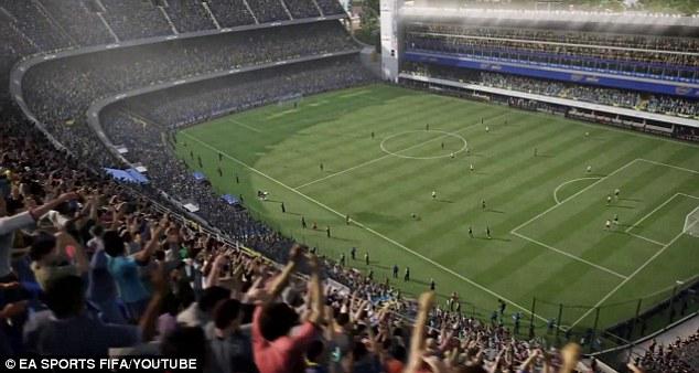 FIFA 15 Visuals