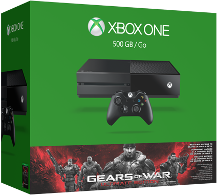 Gears of War: Ultimate Edition bundle with Xbox One console