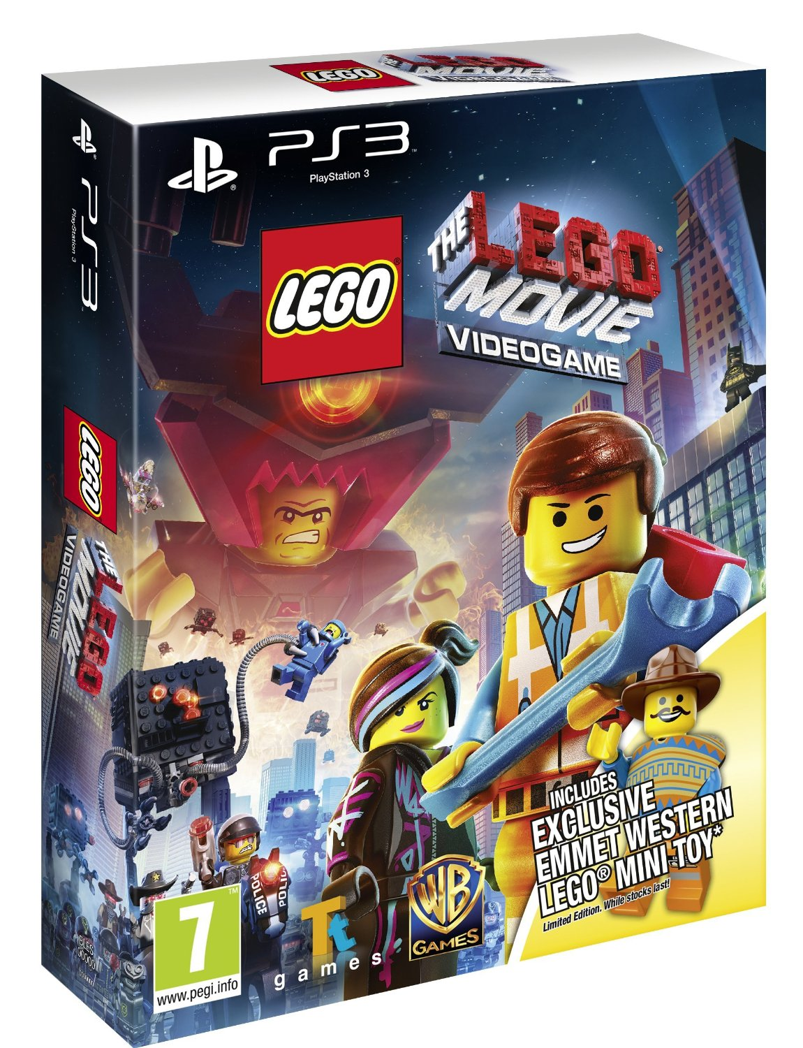 New Lego Games For Ps3 : The lego movie videogame western emmet minitoy edition