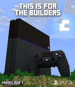 Minecraft for PS4 is Releasing on 3rd of October 2014