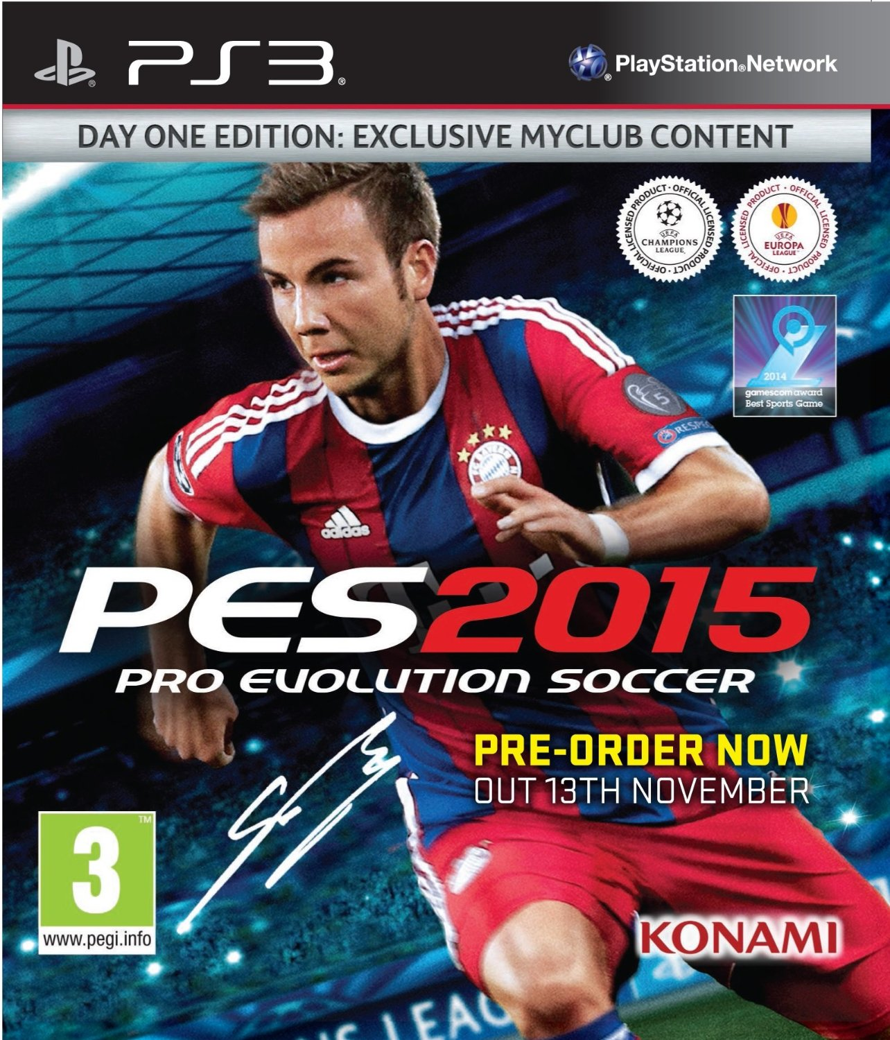 Pro Evolution Soccer (PES) 2015 Wholesale - WholesGame 6441df03c532e